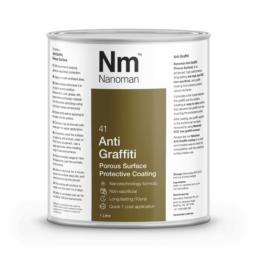 Nanoman Anti Graffiti Porous 1L