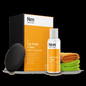 nanoman car polish, sio2, silica quartz, easy clean