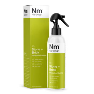 nanoman stone and brick protective coating, water repellent, easy clean