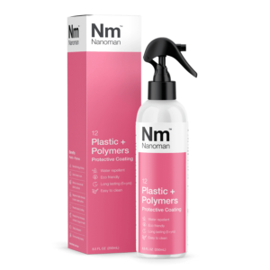 nanoman plastic and polymers protective coating, water repellent, easy clean