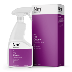nanoman pre cleaner prep spray, prepare surfaces for nano coating