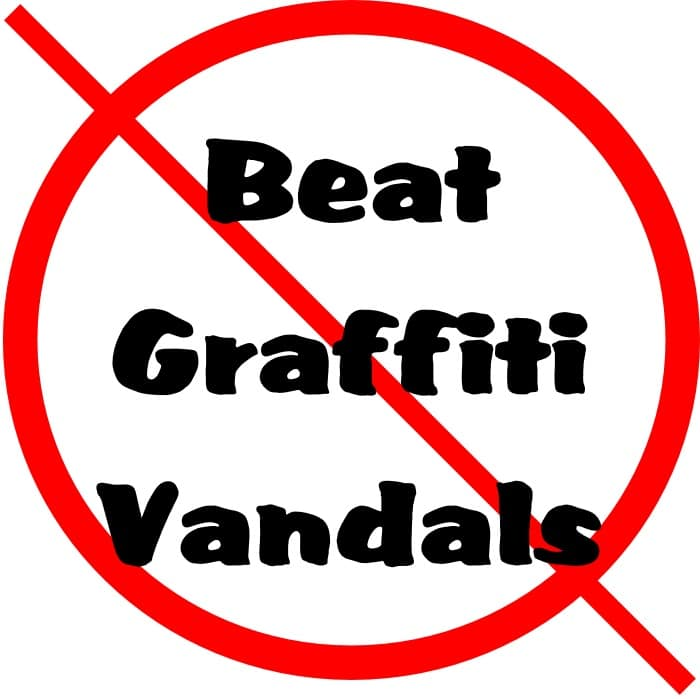 nanoman anti graffiti coating, beat graffiti vandals