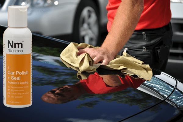 nanoman car polish si02, silica quartz car polish