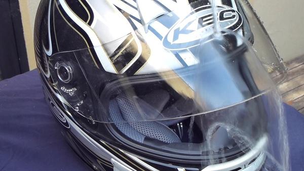 Nanoman motorcyle helmet rain repellent