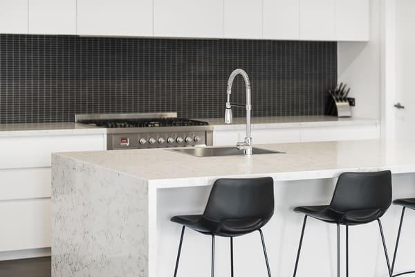 modern kitchen bench